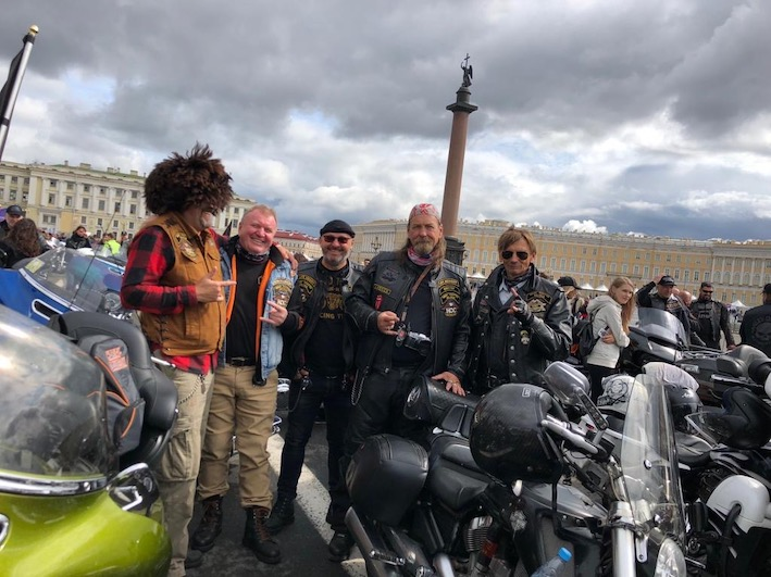 Поездка на Фестиваль St. Petersburg Harley Days 2019 02-04 августа
